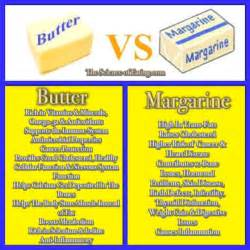 is real butter better for you than margarine butter vs margarine