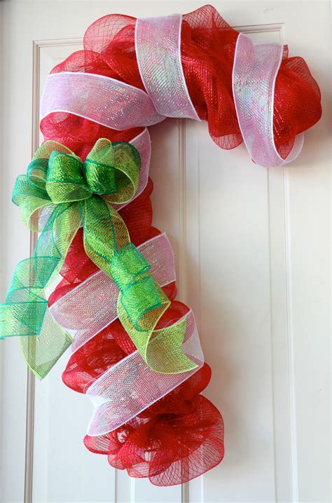Decorations With Deco Mesh by Ideas By Mardi Gras Outlet Door