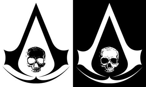 aa creed assassin s creed 4 black flag skull logo by ceekaysickart