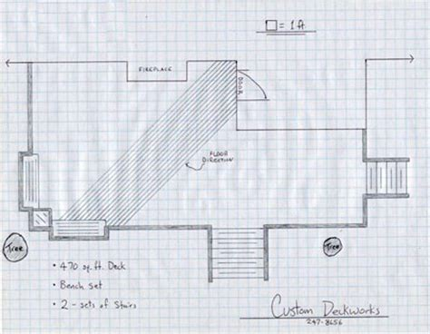 how to draw blue prints woodwork drawing deck plans pdf plans