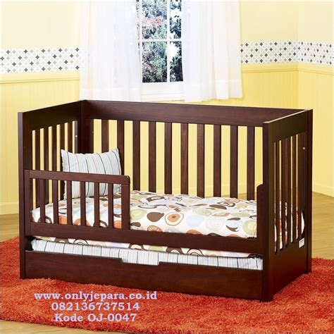 Tempat Tidur Bayi Dari Kayu tempat tidur bayi murah kayu minimalis box bayi kayu
