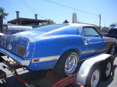 mustang restorations 1969 mustang restoration