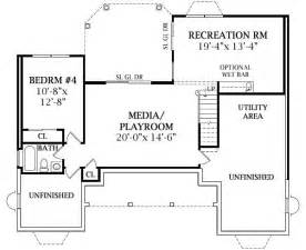 Walk Out Ranch House Plans by House Plans And Design House Plans Canada Walk Out Basement