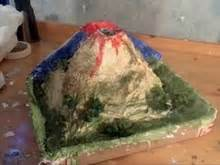 How Do You Make A Paper Mache Volcano - easy and mess free volcano model uses vinegar and baking