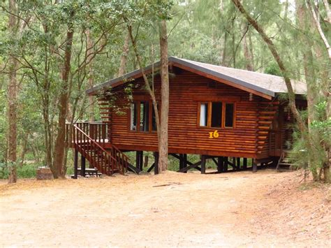 log cabins at cape vidal hluhluwe reserve