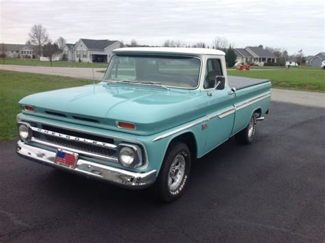 1966 chevrolet c10 bed fleetside custom up truck