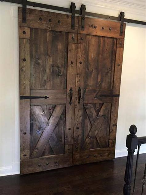 Rustic Sliding Barn Doors At Affordable Prices Split X Barn Door Prices