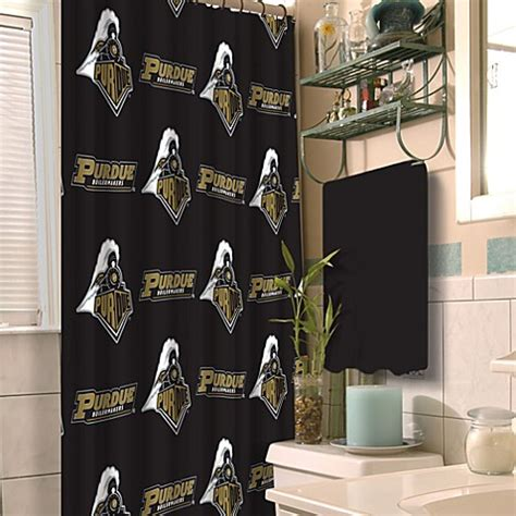 purdue shower curtain buy purdue university 72 inch x 72 inch fabric shower