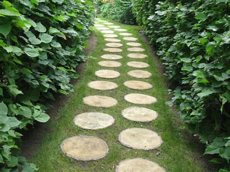 paths design 30 green design ideas for beautiful wooden garden paths