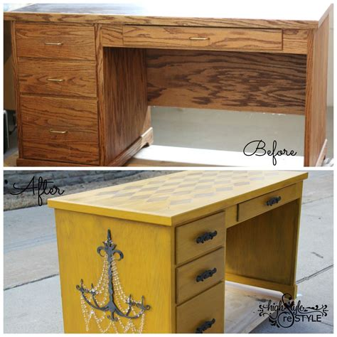 Diy Painted Desk Desk Makeover Ideas Diy Painted Furniture Repurposing Upcycling Jpg Size 1200x1200 Nocrop 1
