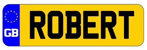 numberplate stickers for ride on cars irl or gb