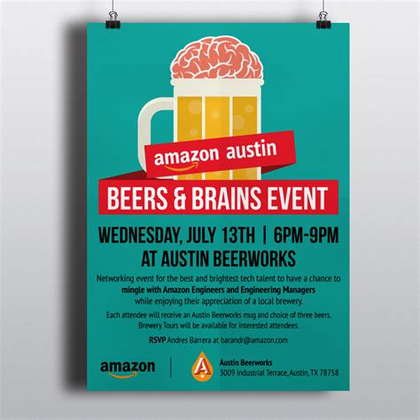 design large poster amazon event poster design intraspire