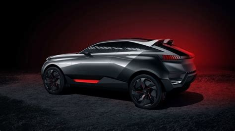 peugeot quartz side view peugeot quartz concept side view hd wallpaper wallpaperfx