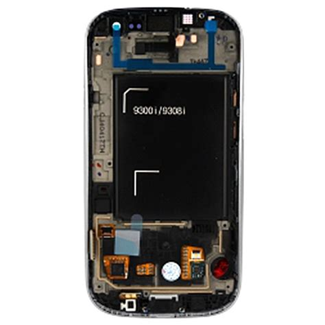 Touscreen Advan S3 Lite Ready samsung galaxy s3 i9300i neo front cover lcd display white