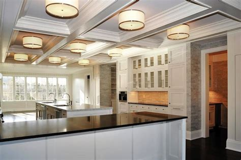white kitchen traditional kitchen pricey pads coffered ceiling kitchen traditional kitchen pricey pads