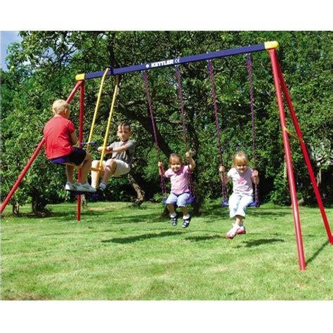 kettler swing set deluxe multi play swing set by kettler toys