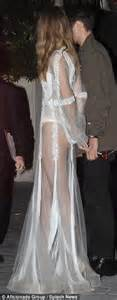 756 Chow Chow Dress gigi hadid stuns in a semi sheer ensemble at la fashion