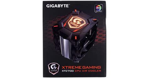 Cpu Gaming 1 gigabyte xtreme gaming xtc700 cpu cooler review