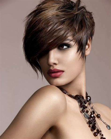 Messy Pixie Short hairstyles 2013 For Curling and Straight