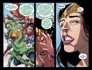 Wonder woman vs martian manhunter injustice gods among us