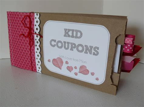 days gift small fry co valentines coupon books for from