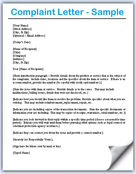 Complaint Letter Against Manager Hr complaint letter sles writing professional letters