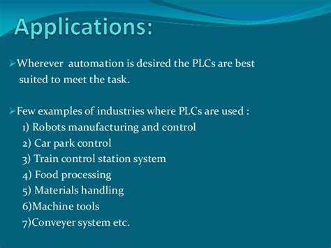 Application Processing System Ppt Ppt On Plc