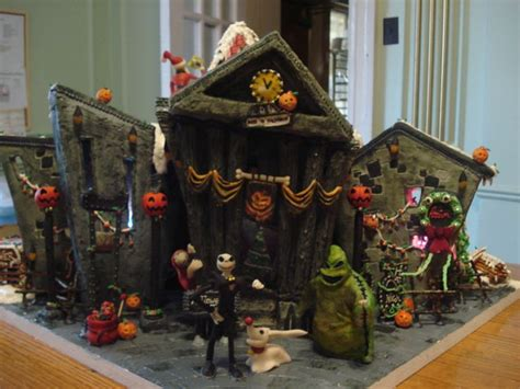nightmare before christmas gingerbread house christmas