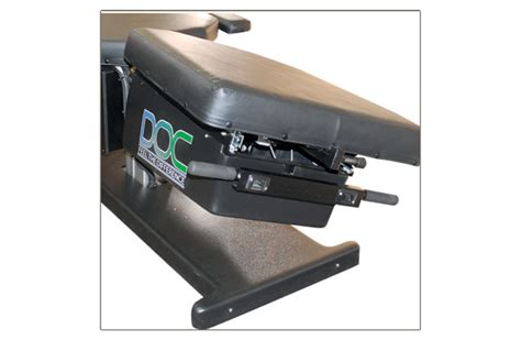 doc cervical lumbar spinal decompression table