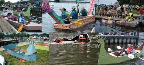cardboard boat challenge rules recycled cardboard boat regatta delaware watersheds
