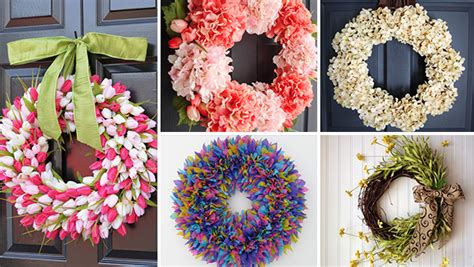 Handmade Wreath Ideas - 17 refreshing handmade wreath ideas you could