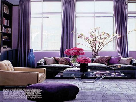 purple home decor ideas purple and grey living room ideas photo home interior