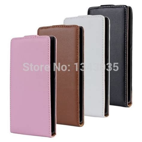 Flip Cover Sony Ericson Experia Z L36h Flipcase Karakter Exp T1310 genuine leather flip cover open up for sony xperia z c6603 l36h experia in phone bags