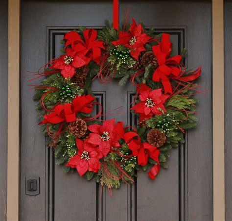 luxury wreaths wreaths crimson luxury wreath columbus oh