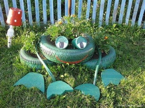 tire garden ideas reused tires garden ideas modern magazin