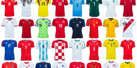 Jersey World Cup 2018 world cup jerseys all the teams getty images foto