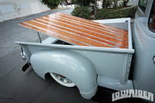 Chevrolet Truck Bed 1953 Chevrolet 3100 Truck Lowrider Magazine