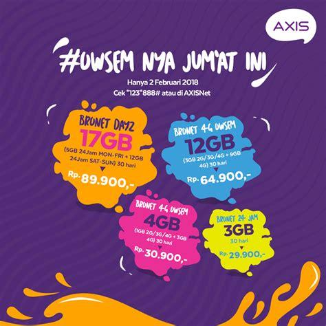 paket iternet murah janualri 2018 paket data internet axis paling murah paketaninternet com