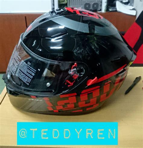 Helm Agv K3sv Myth terjual helm agv k3 dan gp tech harga miring ukuran