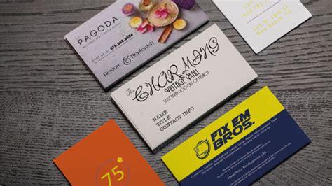 Bad Business Card Design Exles