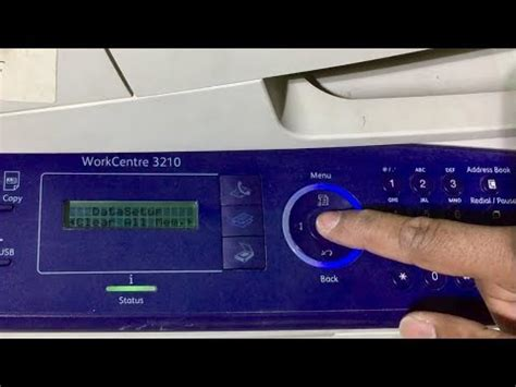 reset chip xerox workcentre 3210 factory reset xerox workcentre 3210 3325 youtube