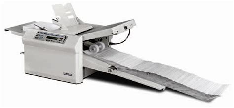 Paper Tri Fold Machine - paper folding machines letter tri fold 11 x 17 up
