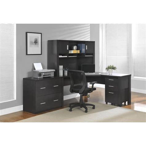 altra princeton l desk altra furniture princeton espresso desk 9820096 the home