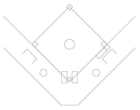 baseball position template the gallery for gt blank softball field diagram