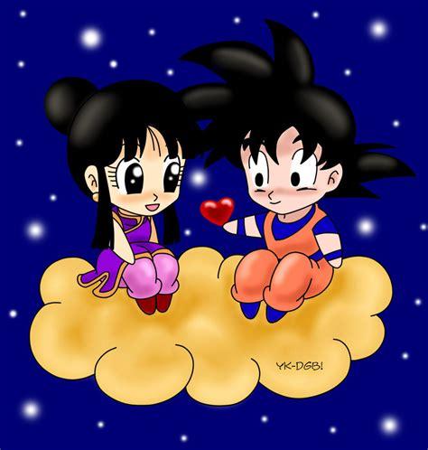 Imagenes Goku Enamorado   goku y vegeta el dia de los enamorados xd