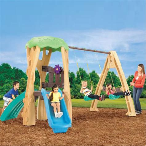 little tyke swing little tikes tree house swing set ojcommerce