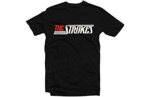 Kaos Pearl Jam Logo 1 t shirt the strokes new logo oyibe
