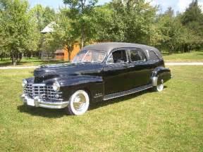 1948 Cadillac Hearse 1948 Cadillac Miller Hearse General Motors Products