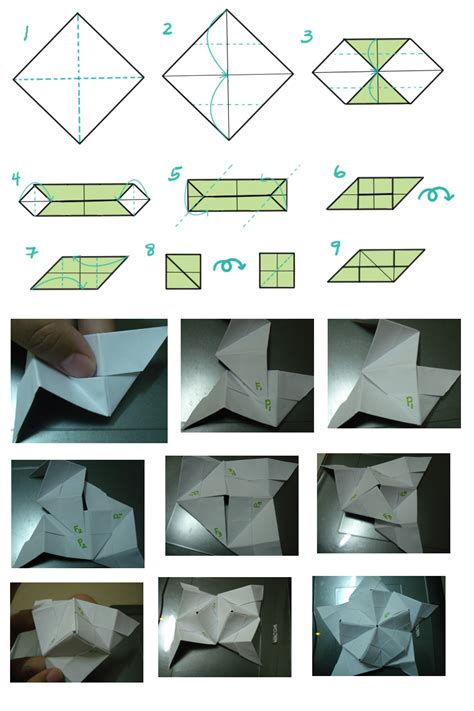 How To Make An Origami Sphere - origami units by hanaclayworks on deviantart