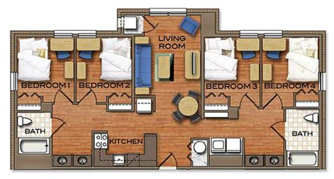 Bathroom And Laundry Room Floor Plans Floor Plans Campus Town